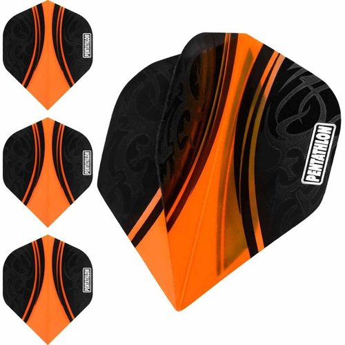Pentathlon Pentathlon dartflight Tribal Oranje - 10 Sets