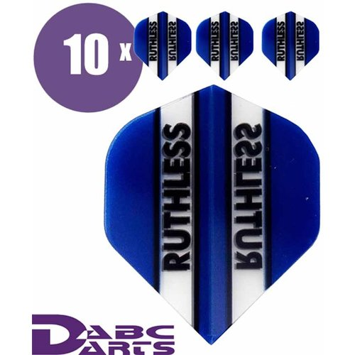 Ruthless Dart flights Ruthless Classic Blauw - 10 sets