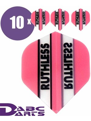 Ruthless Dart flights Ruthless Classic Roze - 10 sets
