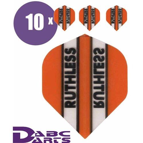 Ruthless Dart flights Ruthless Classic Oranje - 10 sets