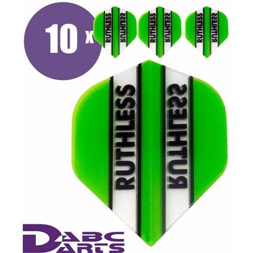 Ruthless Dart flights Ruthless Classic Groen - 10 sets