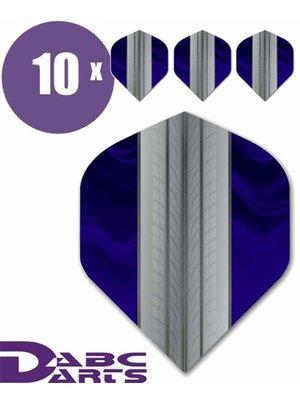 ABCDarts ABC Darts – Tire Track Blauw - 10 sets