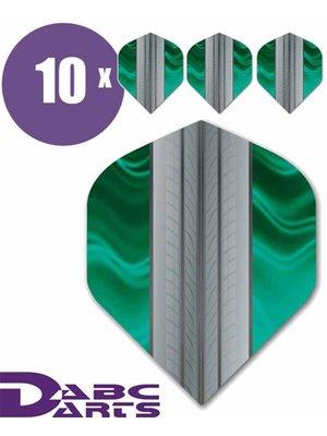 ABCDarts ABC Darts – Tire Track Aqua - 10 sets