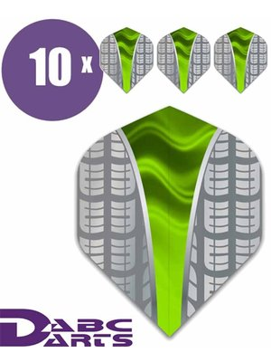 ABCDarts ABC Darts – Tire Vwave Groen - 10 sets