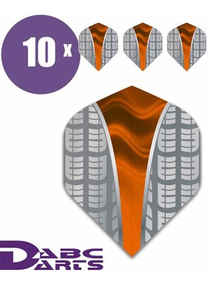 ABCDarts ABC Darts – Tire Vwave Oranje - 10 sets