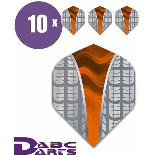 ABCDarts Metronic Dartflights - Target V Oranje - 10 sets