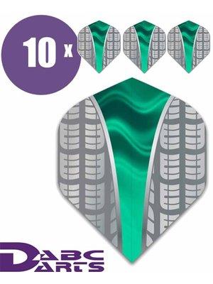 ABCDarts Metronic Dartflights - Target V Aqua - 10 sets