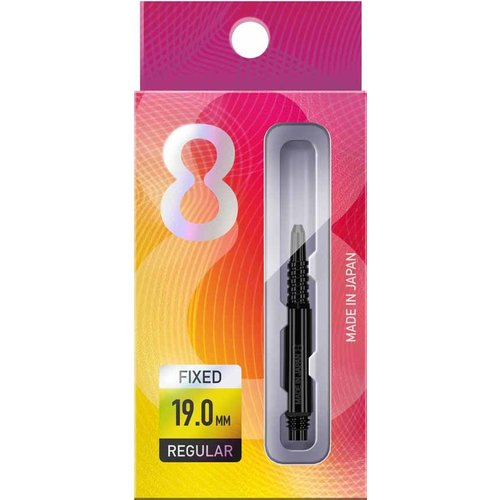 Target darts 8 Flight Regular Zwart