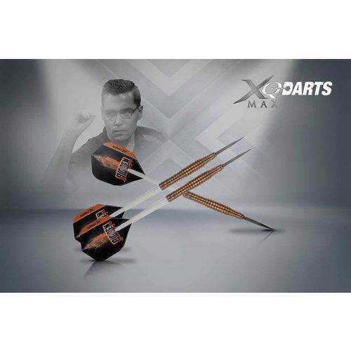 XQ darts Benito Van De Pas Dartpijlen Bronze