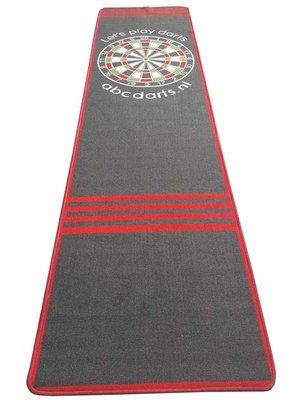 ABCDarts ABC Darts – Dartmat tapijt antracite XXL - 80 x 300 cm