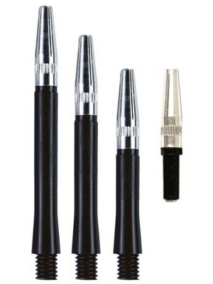 ABCDarts Kunststof shafts gyro new rota zwart
