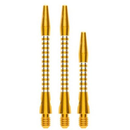 ABCDarts Aluminium shafts geel AR5