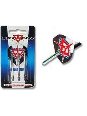 Grand Slam Darts Set Trifin dartflights en dartshafts aluminium - short