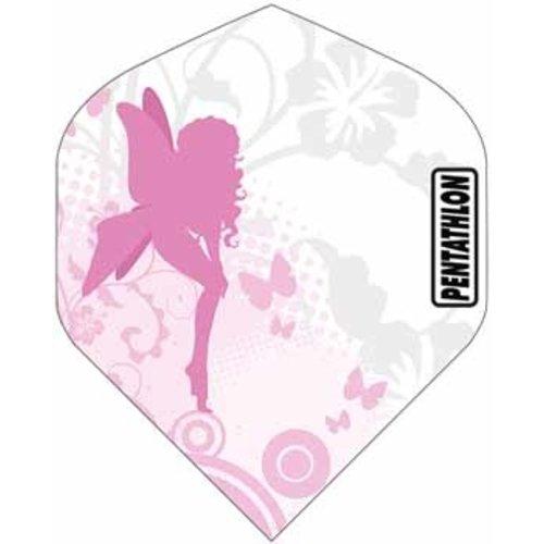 Pentathlon Pentathlon dartflight - girl play angel