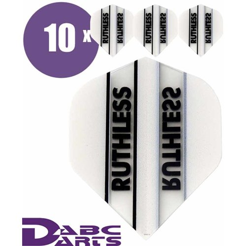 Ruthless Dart flights Ruthless Classic Wit - 10 sets