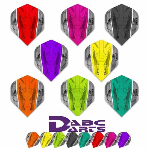 Pentathlon Dartflight Pentathlon Science Mix color - 10 sets