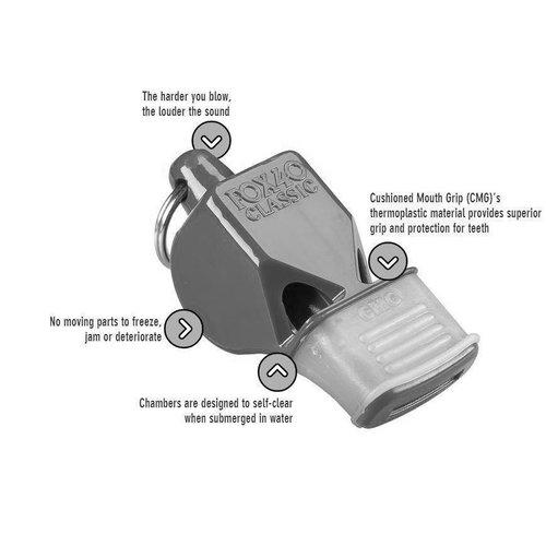ABCDarts Scheidsrechtersfluit model Fox40
