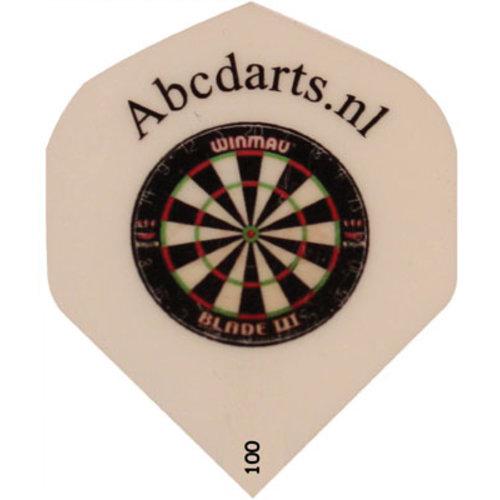 ABCDarts Dartflights bedrukken met dartbord en naam