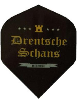 ABCDarts Zwarte Dartflights Bedrukken Met Logo of Foto
