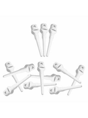 ABCDarts Softtip Dartpunten Wit - 100 Stuks
