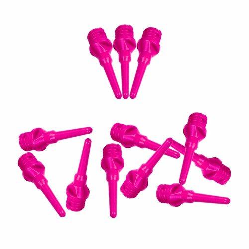 ABCDarts Softtip dartpunten fluor roze - 100 stuks
