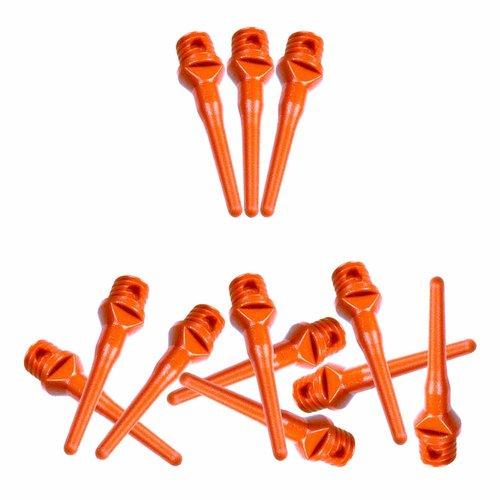 ABCDarts Softtip dartpunten fluor oranje - 100 stuks