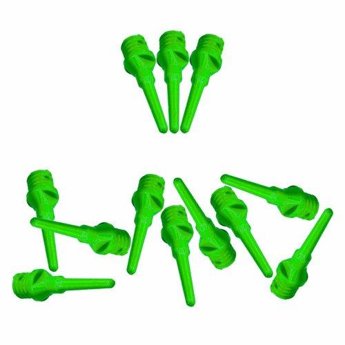 ABCDarts Softtip dartpunten fluor groen - 100 stuks