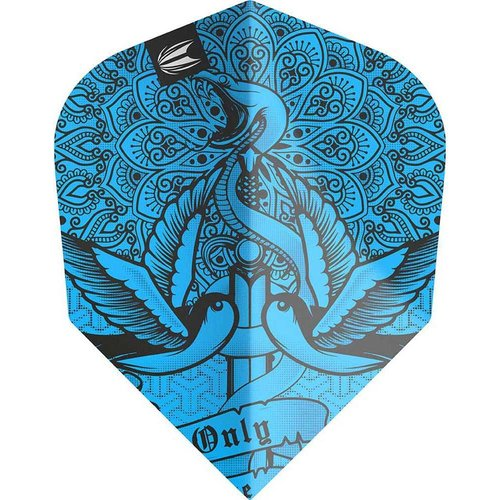 Target darts Target Darts 335450 - Dartflights INC Tattoo Blauw