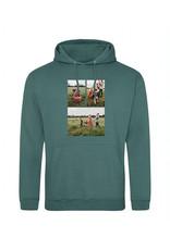 Kopie-Druk Volwassen UNI hoodie