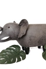 Dierenpoef- voetenbank: elephant