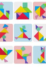 Logwood Magnetische 3D puzzel Tangram spel