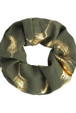 Scrunchies Golden Feather