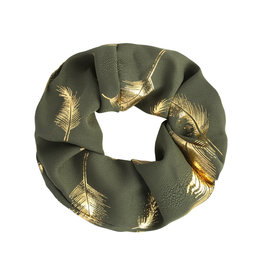 Scrunchies Golden Feather