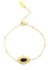 Yehwang Armband ovaal met steen
