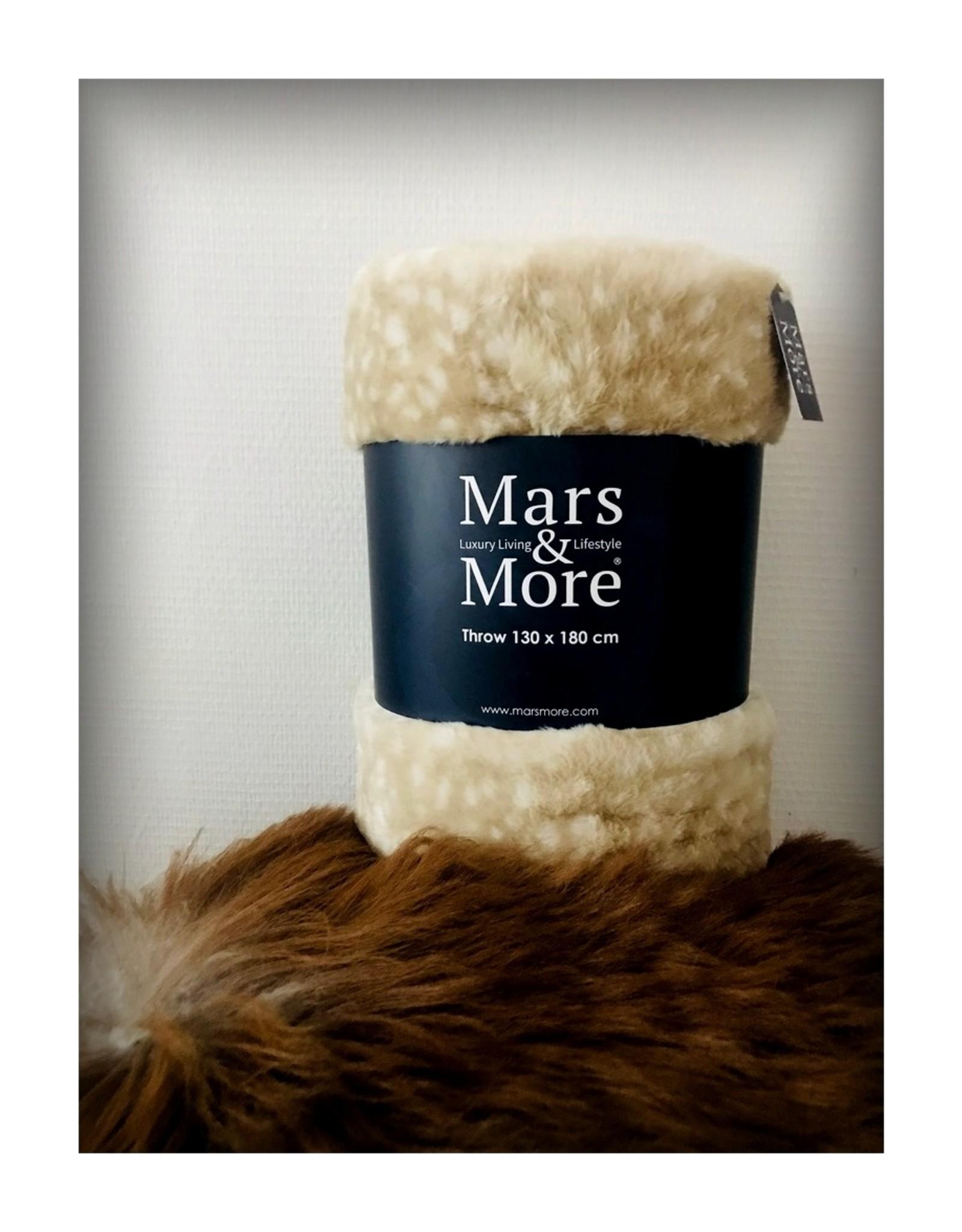 Mars & More Kleed Hert - Woondeken 130x180cm - Warm & Zacht
