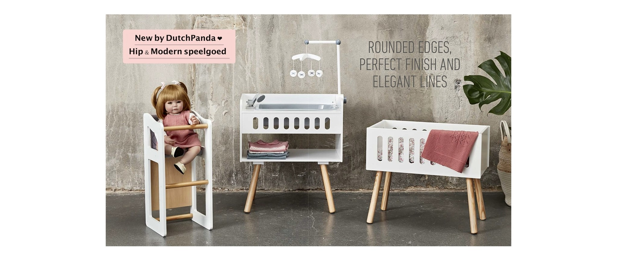New by DutchPanda ❤︎ Hip & Modern speelgoed van het merk ByAbstrup
