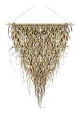 Wanddecoratie, Gevlochten Palmblad driehoek