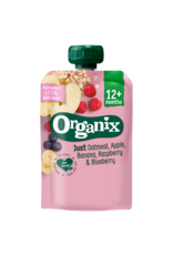 Organix Organix Just Oatmeal, Apple, Banana, Raspberry & Blueberry