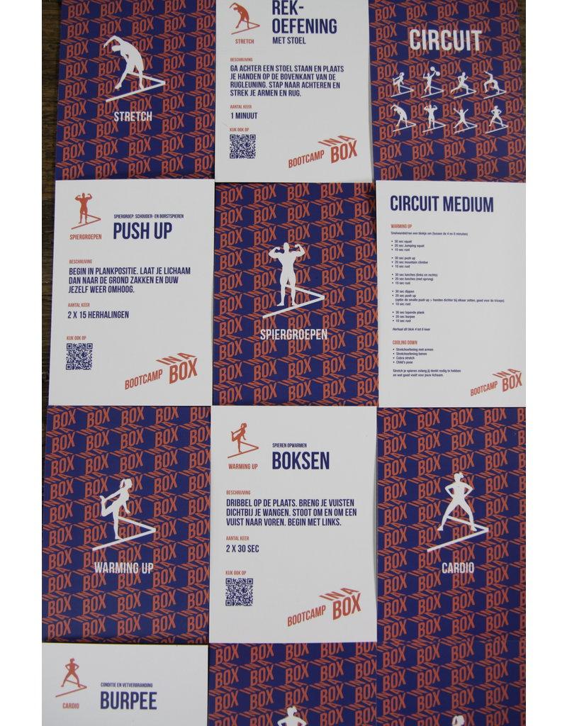 BOOTCAMP IN A BOX BOOTCAMP IN A BOX COMPLEET. Het (start) pakket voor Bootcamp bij jou thuis