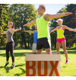 BOOTCAMP IN A BOX BOOTCAMP IN A BOX  VOOR 10 PERSONEN