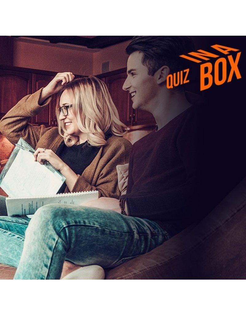 QUIZ IN A BOX - TEST JE ALGEMENE KENNIS EN SPEEL TEGEN ELKAAR OF IN TEAMS