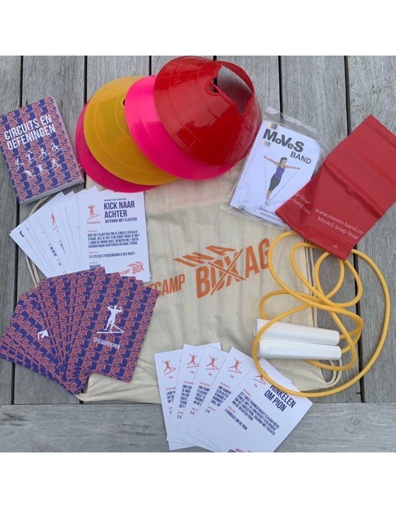 BOOTCAMP IN A BOX BOOTCAMP FOR KIDS IN A BOX. Alles voor kinderen om actief te zijn! (van 6 tot 12 jaar)