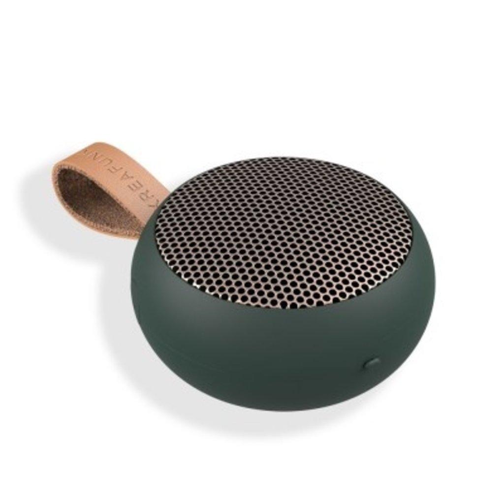 Kreafunk aGO, BT Speaker - shady green