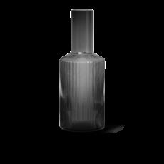 Ferm Living Ripple Carafe - Smoked Grey