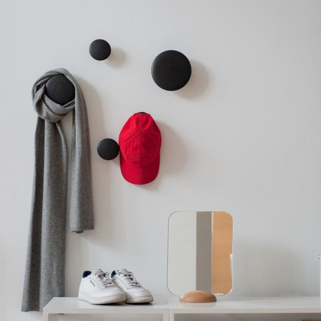 Muuto The Dots - Black  (set of 5)