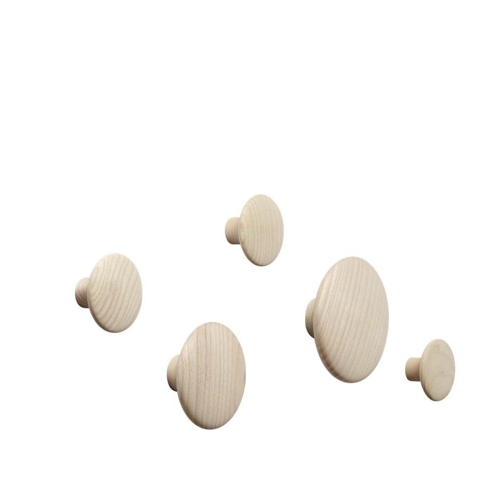 Muuto The Dots - Natural Oak (set of 5)