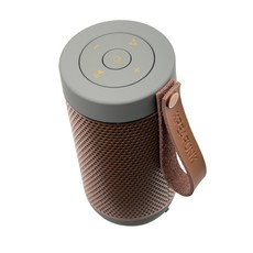 Kreafunk aFUNK, cool grey, w. rose gold grill