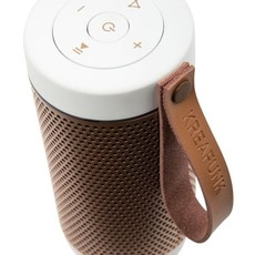 Kreafunk aFUNK, white, w. rose gold grill