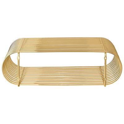 AYTM CURVA shelf gold