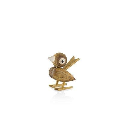 Lucie  Kaas Gunnar Flørning Sparrow Small Tropical Chestnut